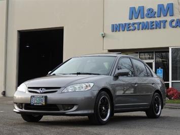 2005 Honda Civic Sedan / VTEC / 5 SPEED MANUAL / 128K MLS / 1-OWNER Sedan
