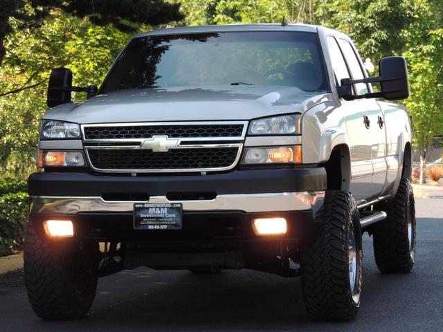 2006 chevrolet silverado 2500 lt 4x4 crew cab 6 6l duramax diesel lifted. Black Bedroom Furniture Sets. Home Design Ideas