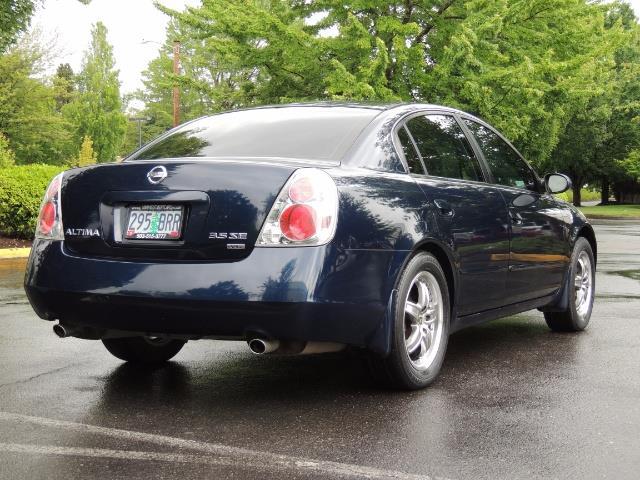 2005 Nissan Altima 3.5 SE / Sedan / Automatic / 6 Cyl - Photo 8 - Portland, OR 97217