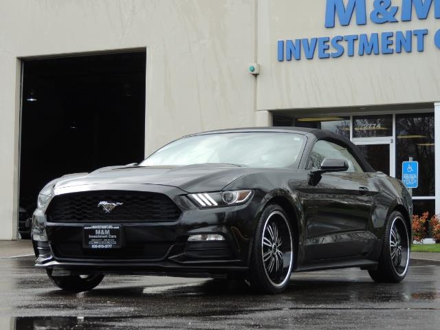 2016 Ford Mustang V6 / Convertible / Automatic / Premium Wheels - Photo 37 - Portland, OR 97217