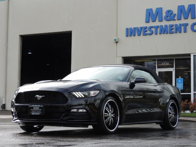 2016 Ford Mustang V6 / Convertible / Automatic / Premium Wheels - Photo 49 - Portland, OR 97217