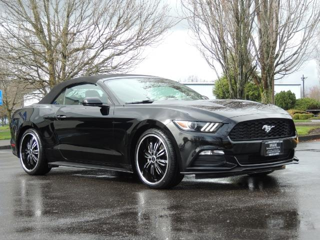 2016 Ford Mustang V6 / Convertible / Automatic / Premium Wheels - Photo 2 - Portland, OR 97217