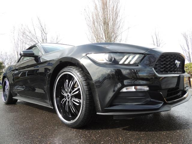 2016 Ford Mustang V6 / Convertible / Automatic / Premium Wheels - Photo 9 - Portland, OR 97217