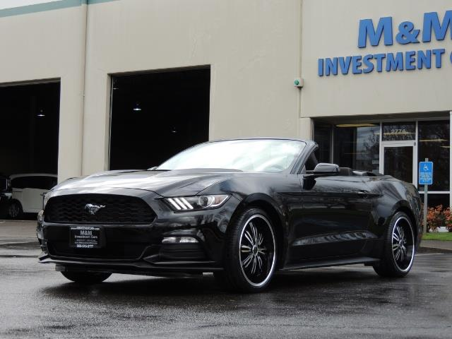 2016 Ford Mustang V6 / Convertible / Automatic / Premium Wheels - Photo 53 - Portland, OR 97217