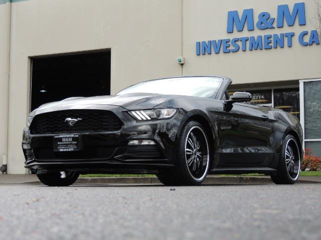2016 Ford Mustang V6 / Convertible / Automatic / Premium Wheels - Photo 54 - Portland, OR 97217
