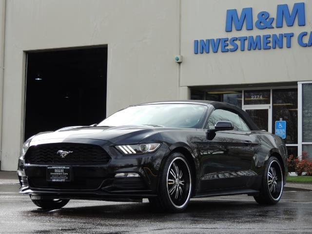 2016 Ford Mustang V6 / Convertible / Automatic / Premium Wheels - Photo 48 - Portland, OR 97217