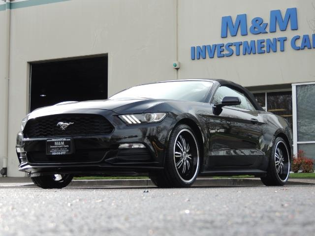 2016 Ford Mustang V6 / Convertible / Automatic / Premium Wheels - Photo 51 - Portland, OR 97217