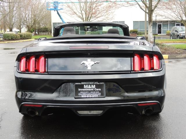 2016 Ford Mustang V6 / Convertible / Automatic / Premium Wheels - Photo 56 - Portland, OR 97217