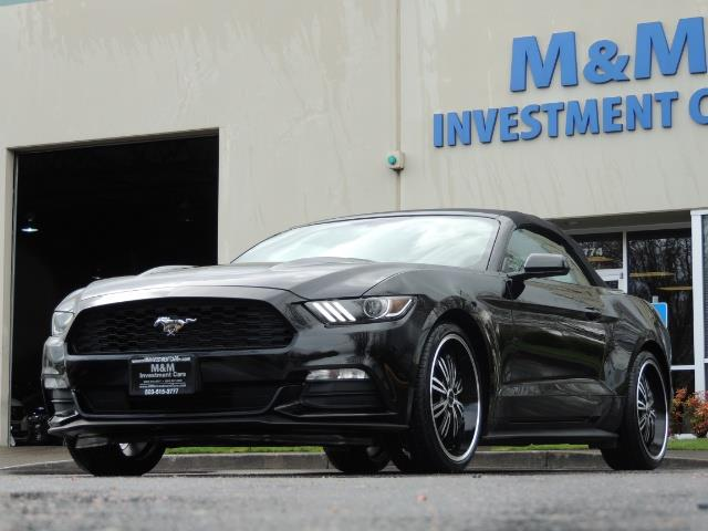 2016 Ford Mustang V6 / Convertible / Automatic / Premium Wheels - Photo 60 - Portland, OR 97217