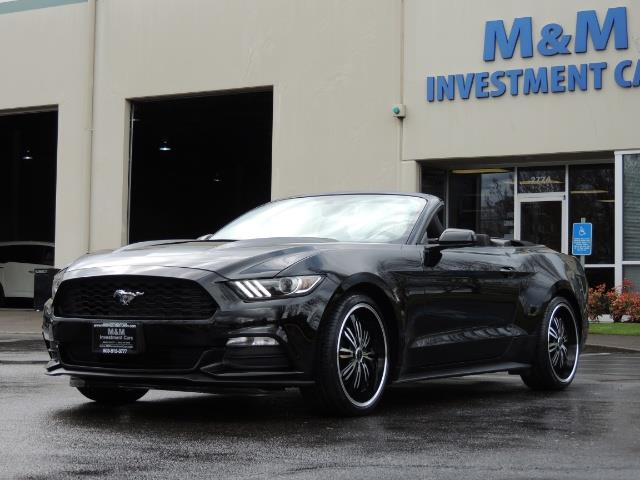 2016 Ford Mustang V6 / Convertible / Automatic / Premium Wheels - Photo 11 - Portland, OR 97217