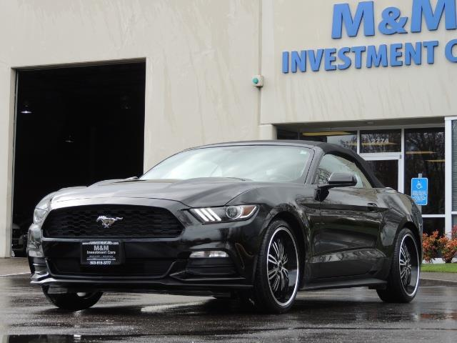 2016 Ford Mustang V6 / Convertible / Automatic / Premium Wheels - Photo 39 - Portland, OR 97217