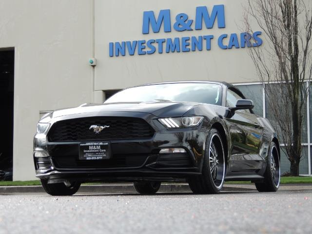 2016 Ford Mustang V6 / Convertible / Automatic / Premium Wheels - Photo 50 - Portland, OR 97217
