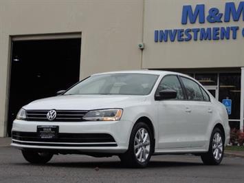 2015 Volkswagen Jetta SE PZEV / Sedan /Brand new tires /Factory Warranty Sedan