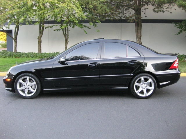 2007 mercedes benz c230 sport pkg for Mercedes benz c230 sport 2007