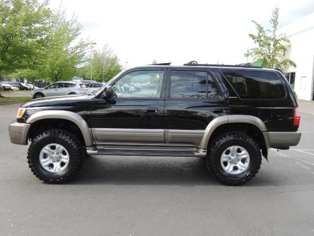 1999 Toyota 4Runner Limited 4WD / V6 / Leather / Sunroof / LIFTED - Photo 4 - Portland, OR 97217