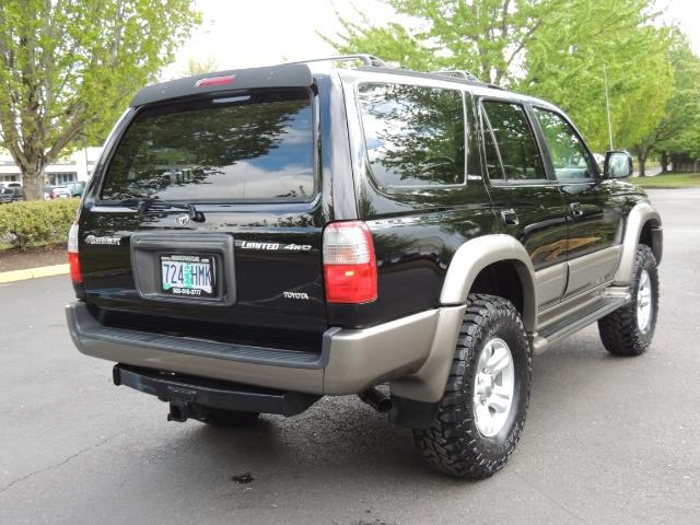 1999 Toyota 4Runner Limited 4WD / V6 / Leather / Sunroof / LIFTED - Photo 8 - Portland, OR 97217