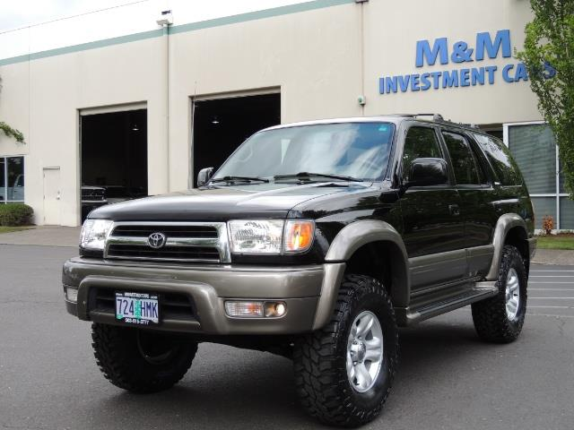 1999 Toyota 4Runner Limited 4WD / V6 / Leather / Sunroof / LIFTED - Photo 44 - Portland, OR 97217