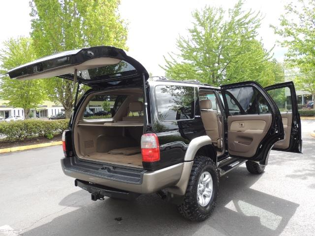 1999 Toyota 4Runner Limited 4WD / V6 / Leather / Sunroof / LIFTED - Photo 37 - Portland, OR 97217
