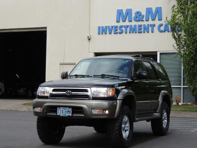 1999 Toyota 4Runner Limited 4WD / V6 / Leather / Sunroof / LIFTED - Photo 1 - Portland, OR 97217