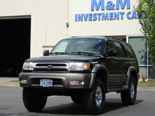 1999 Toyota 4Runner Limited 4WD / V6 / Leather / Sunroof / LIFTED - Photo 47 - Portland, OR 97217