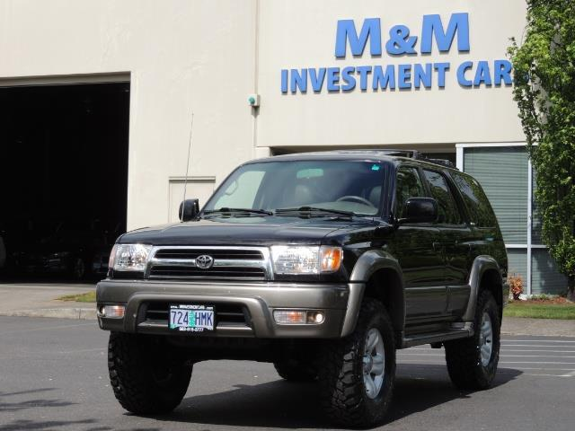 1999 Toyota 4Runner Limited 4WD / V6 / Leather / Sunroof / LIFTED - Photo 48 - Portland, OR 97217