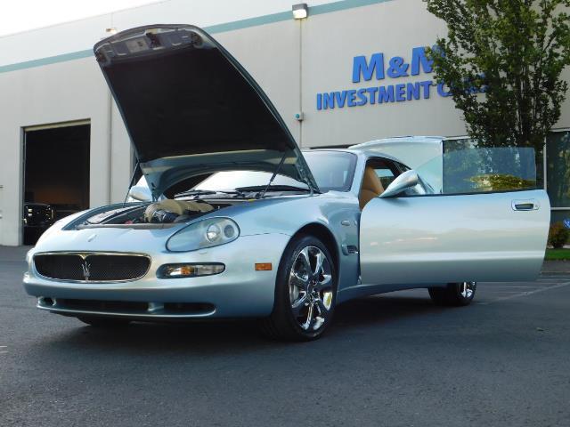 2004 Maserati Coupe Cambiocorsa / 2Dr Coupe / F1 Transmission / Excel - Photo 25 - Portland, OR 97217