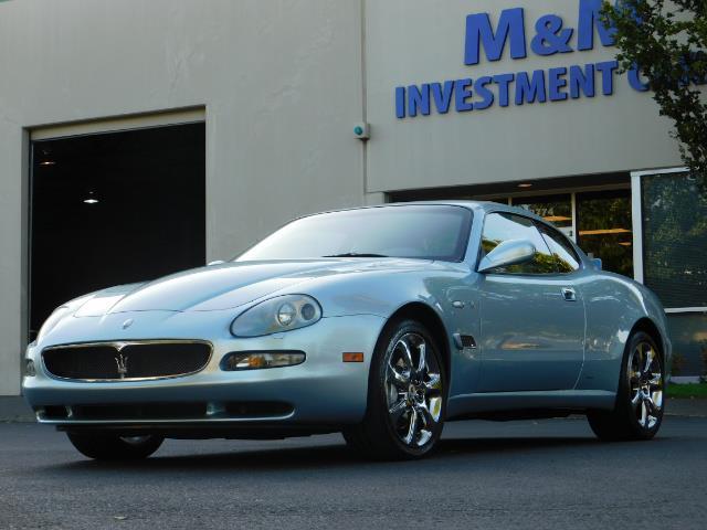 2004 Maserati Coupe Cambiocorsa / 2Dr Coupe / F1 Transmission / Excel - Photo 40 - Portland, OR 97217