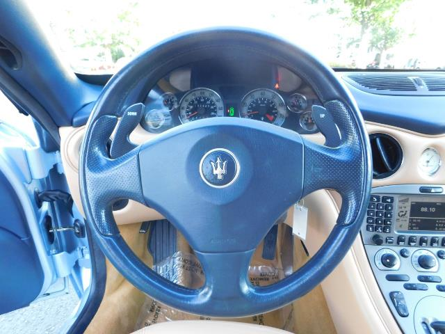 2004 Maserati Coupe Cambiocorsa / 2Dr Coupe / F1 Transmission / Excel - Photo 20 - Portland, OR 97217