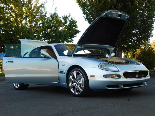 2004 Maserati Coupe Cambiocorsa / 2Dr Coupe / F1 Transmission / Excel - Photo 30 - Portland, OR 97217