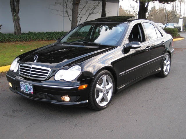 2006 mercedes benz c230 sport pkg for Mercedes benz 2006 c230 sport