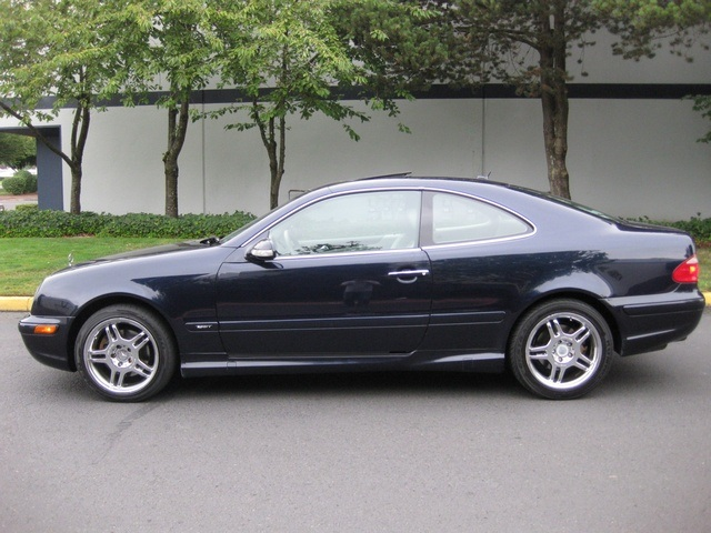 2002 Mercedes Benz Clk320 Coupe Sport Edition