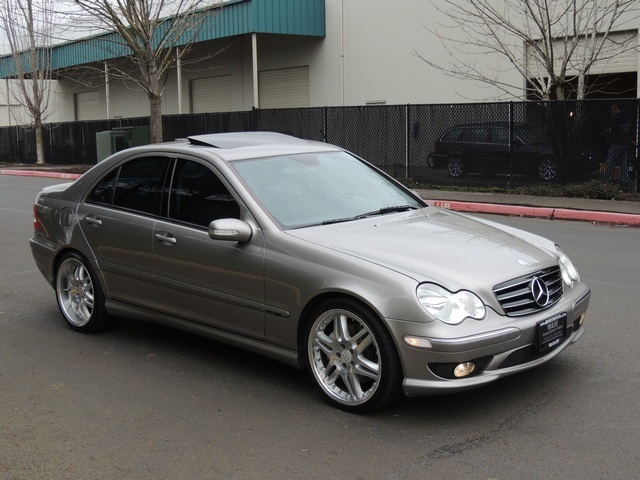 Mercedes Of Portland >> 2005 Mercedes-Benz C230 SPORT / Supercharged / BRABUS Wheels / Loaded