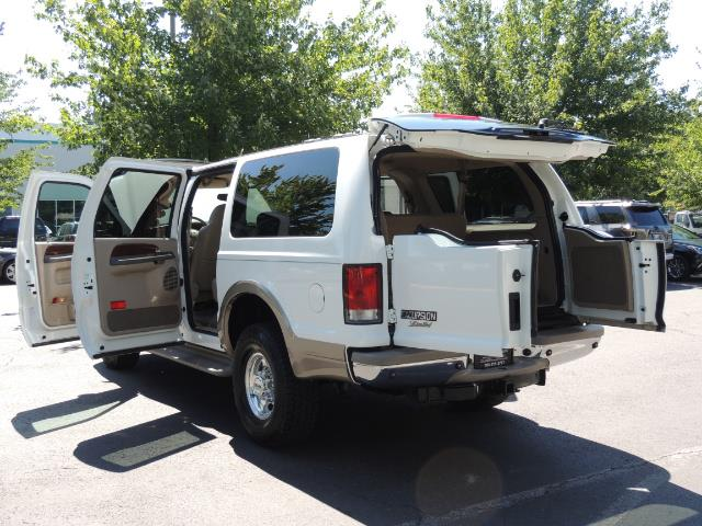 2001 Ford Excursion Limited / 4WD / 7.3L DIESEL / Excel Cond - Photo 27 - Portland, OR 97217