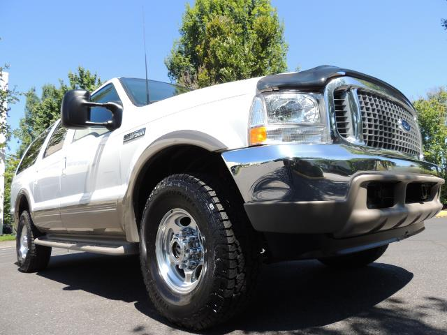 2001 Ford Excursion Limited / 4WD / 7.3L DIESEL / Excel Cond - Photo 10 - Portland, OR 97217