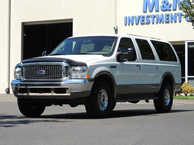 2001 Ford Excursion Limited / 4WD / 7.3L DIESEL / Excel Cond - Photo 44 - Portland, OR 97217