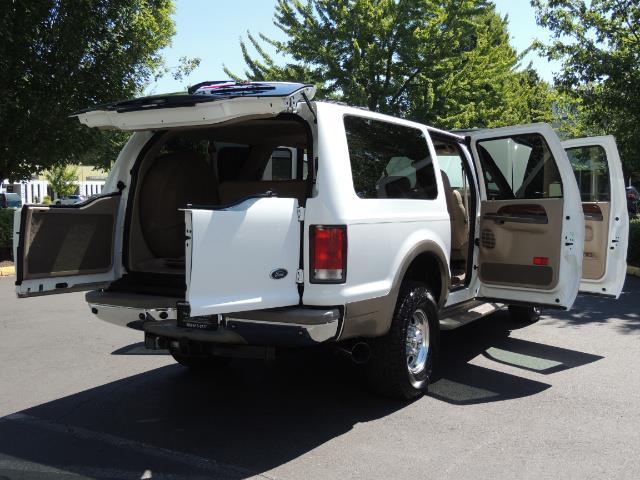 2001 Ford Excursion Limited / 4WD / 7.3L DIESEL / Excel Cond - Photo 29 - Portland, OR 97217