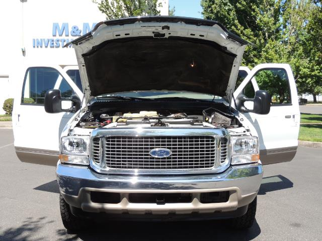 2001 Ford Excursion Limited / 4WD / 7.3L DIESEL / Excel Cond - Photo 32 - Portland, OR 97217