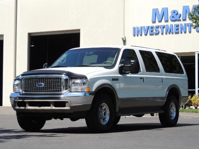 2001 Ford Excursion Limited / 4WD / 7.3L DIESEL / Excel Cond - Photo 45 - Portland, OR 97217