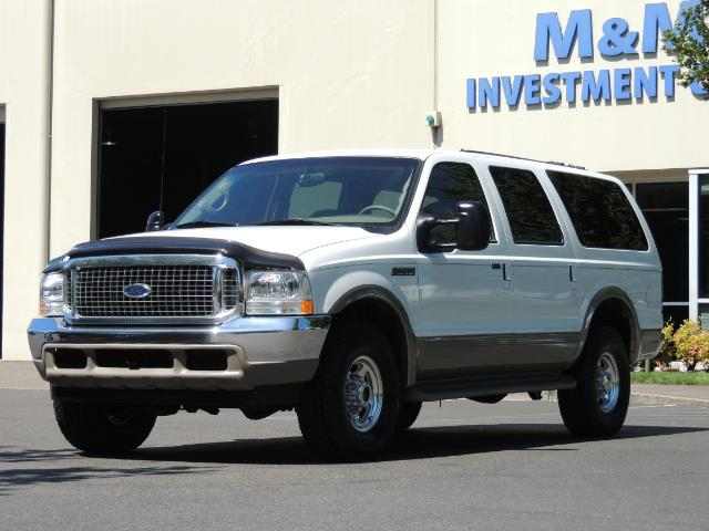 2001 Ford Excursion Limited / 4WD / 7.3L DIESEL / Excel Cond - Photo 46 - Portland, OR 97217
