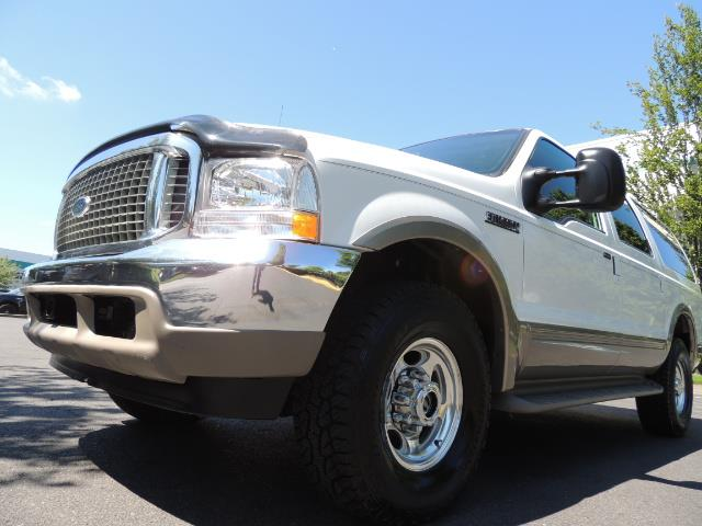 2001 Ford Excursion Limited / 4WD / 7.3L DIESEL / Excel Cond - Photo 9 - Portland, OR 97217
