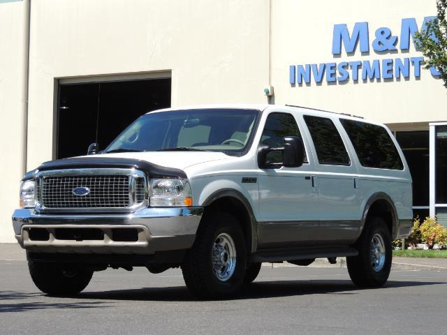 2001 Ford Excursion Limited / 4WD / 7.3L DIESEL / Excel Cond - Photo 1 - Portland, OR 97217