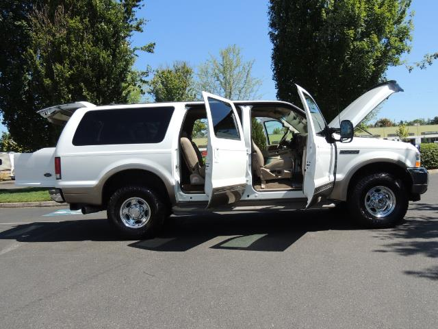 2001 Ford Excursion Limited / 4WD / 7.3L DIESEL / Excel Cond - Photo 30 - Portland, OR 97217