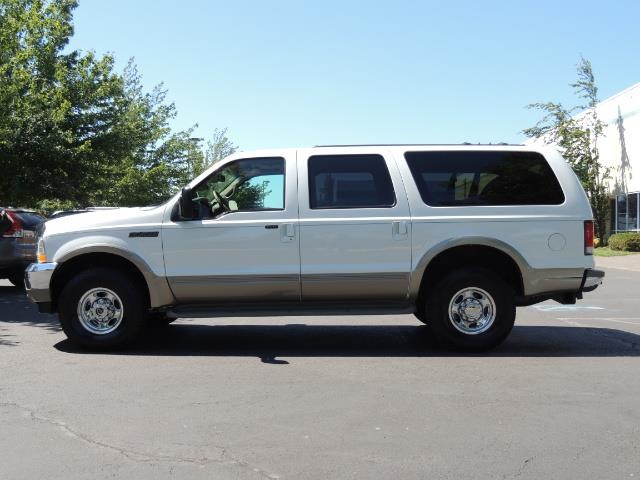 2001 Ford Excursion Limited / 4WD / 7.3L DIESEL / Excel Cond - Photo 3 - Portland, OR 97217