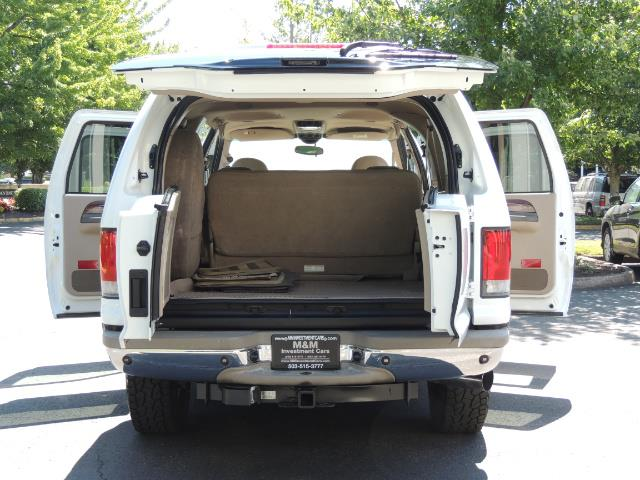 2001 Ford Excursion Limited / 4WD / 7.3L DIESEL / Excel Cond - Photo 19 - Portland, OR 97217