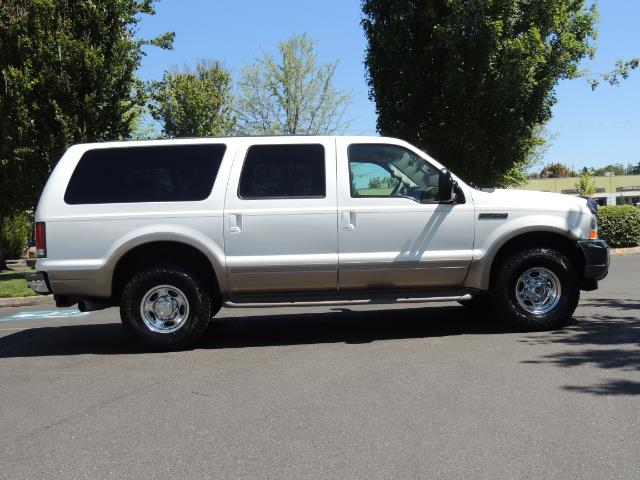 2001 Ford Excursion Limited / 4WD / 7.3L DIESEL / Excel Cond - Photo 4 - Portland, OR 97217