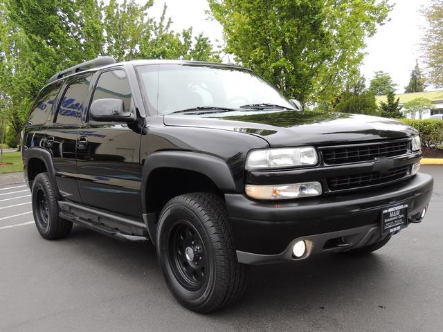 2005 chevrolet tahoe z71 4x4 sunroof captain chairs loaded. Black Bedroom Furniture Sets. Home Design Ideas