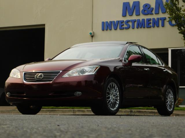 2007 Lexus ES 350 / Premium Plus / Pano Sunroof / Adaptive Cruis - Photo 46 - Portland, OR 97217