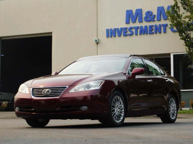 2007 Lexus ES 350 / Premium Plus / Pano Sunroof / Adaptive Cruis - Photo 1 - Portland, OR 97217