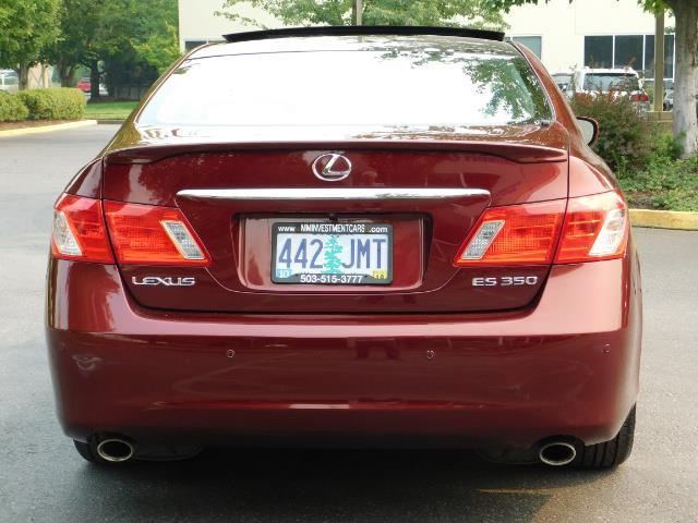 2007 Lexus ES 350 / Premium Plus / Pano Sunroof / Adaptive Cruis - Photo 6 - Portland, OR 97217