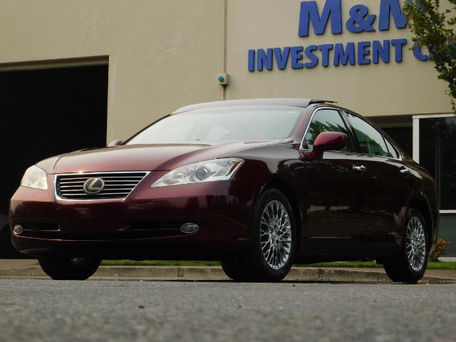 2007 Lexus ES 350 / Premium Plus / Pano Sunroof / Adaptive Cruis - Photo 44 - Portland, OR 97217